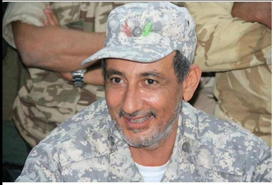 the commander of 'Battalion 204 tanks', Colonel Mahdi al-Bergthe, 2