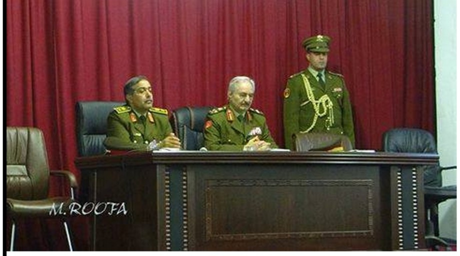 Adjutant General, Chairman of the Staff of the Libyan army (NAZDAWI & HFTAR)