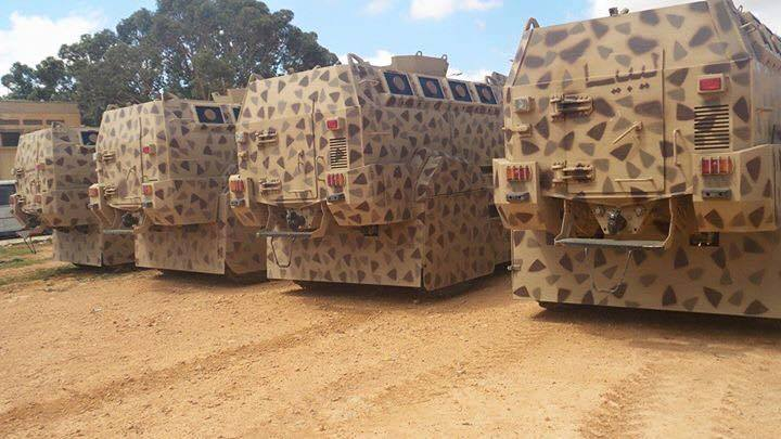 Camoplaged canvas housing for military SUVs