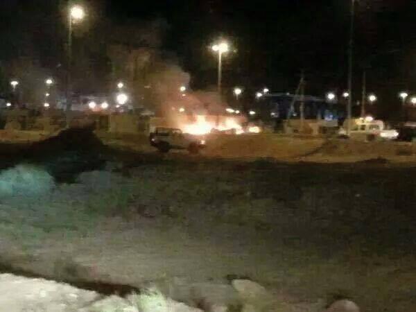 'Fajr Libya' on the outskirts of the area Souk al-Jmah