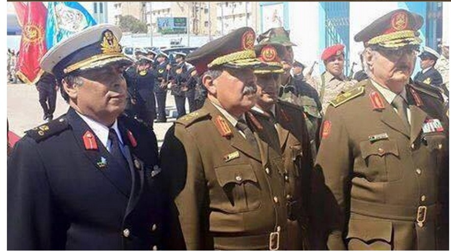 Generals of the 'new' Libyan Army