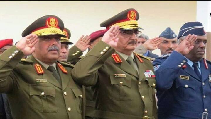 LIBYAN ARMY GENERALS AND LEADERS