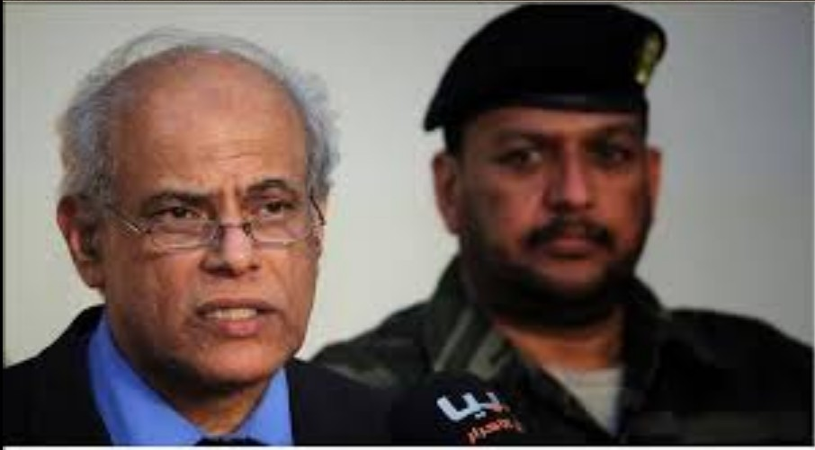Libyan Justice Minister Salah Mirghani and follow-up