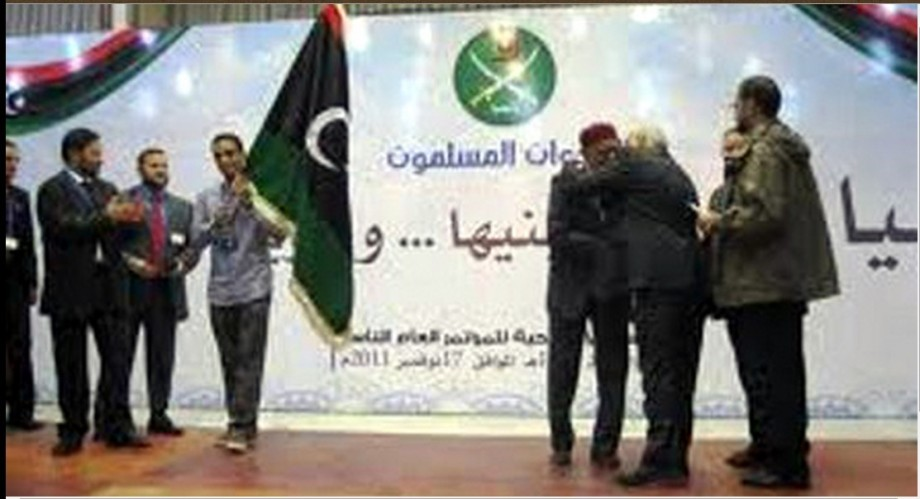 'muslim' Brotherhood control the Tripol and Misurata governments, the armor-shield militias, 'Dawn Libya', 'Sunrise Libya', and have merged with most of the outlawed militias