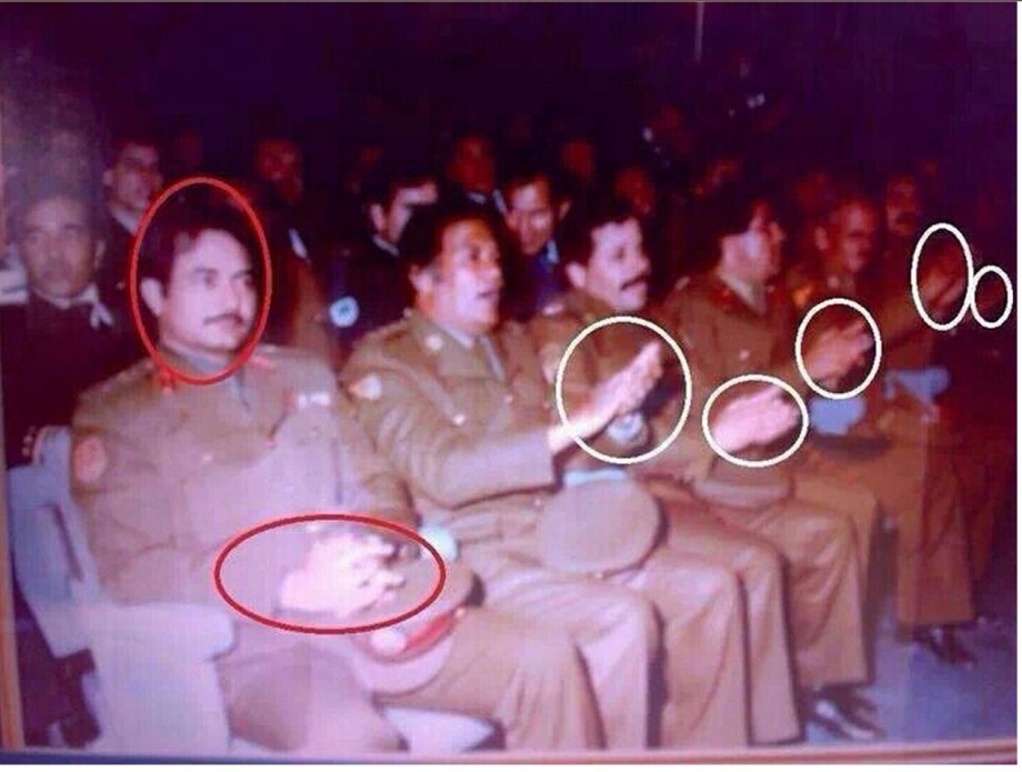 Revolutionaries Committeeman, Khalifa Hftar. 1970