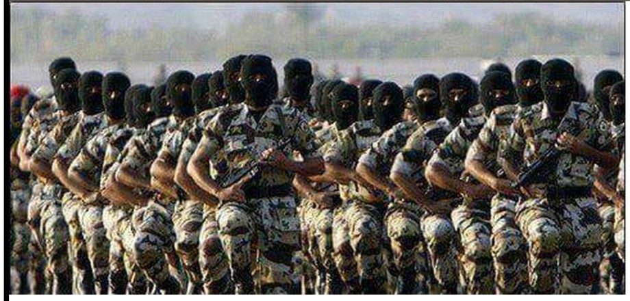 Revolutionary Guards 23 MARCH 2015 to CORNER