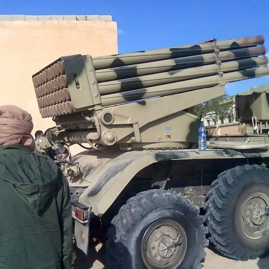 Scout 2 LIBYAN ARMY at al-AZIZIA mechanisms