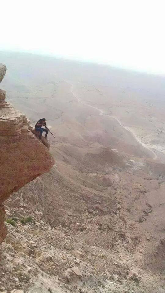 sniper in the Jabal-nafusa