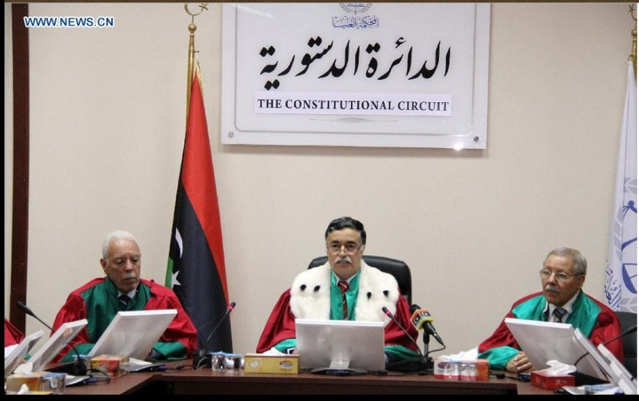 TRIPOLI 'SUPREME COURT'