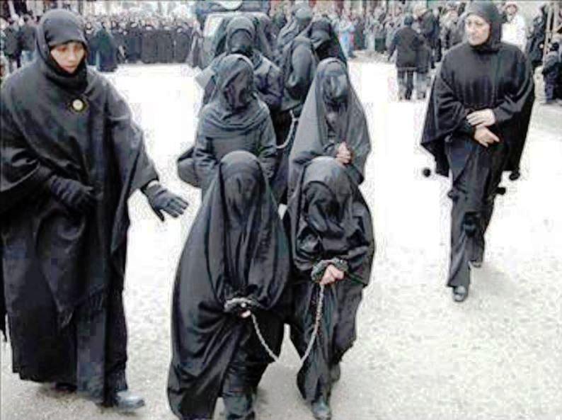 Wahabi DAASH-girls-slaves, view of women