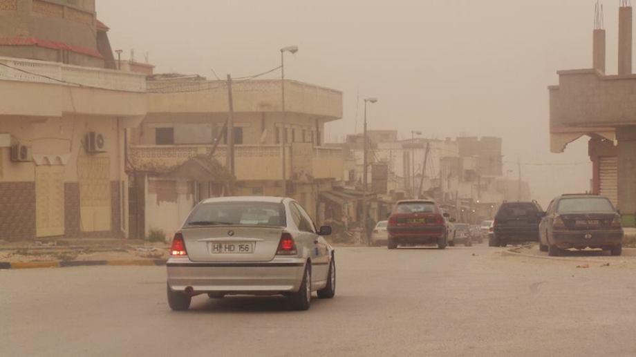 AJDABIYA sandstorm, 1