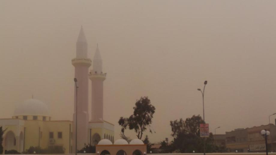 AJDABIYA sandstorm, 2