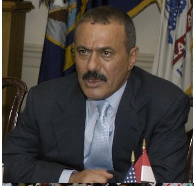 American-Saudi puppet Ali Abdullah Saleh (President of Yemen from 1978 - 2012)