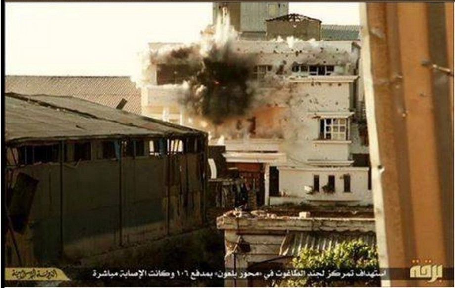 DAASH destroys homes in Benghazi with a N° 106 Cannon