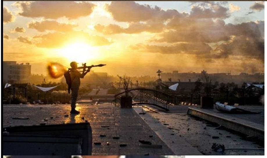 DAASH Sirte sniper in residential area 1