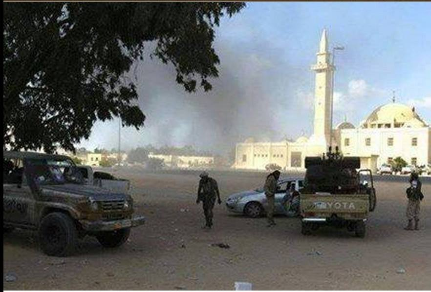 'Dawn Libya' terrorist organization sneaking at Nofaliya