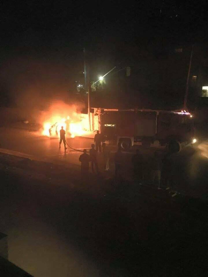 Friday Market, Tripoli, car explodes, al-Hachan