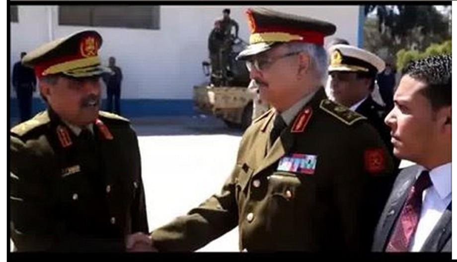 Generals HFTAR & NZDAWI leaving Jordan