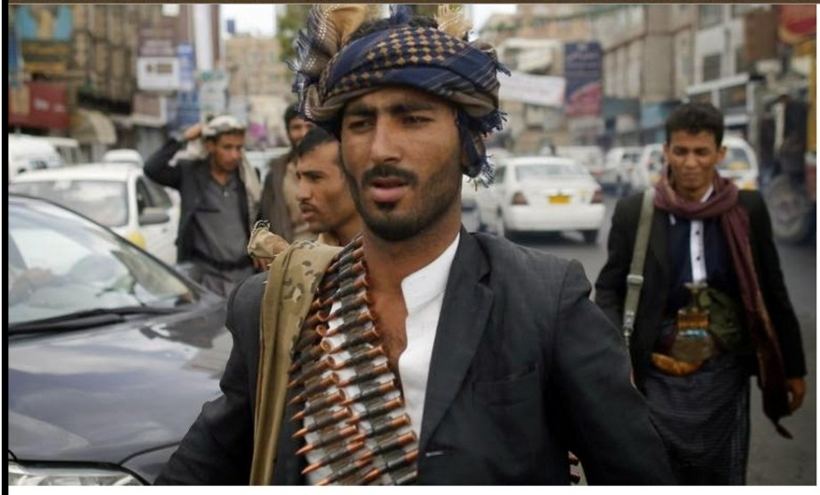 Houthi in the city of Saana