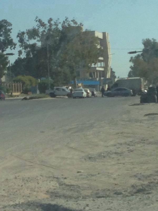 Ikmona gate in the fast lane of Tripoli