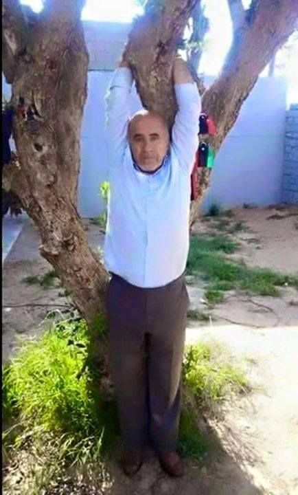 Lawyer Abdullah Vanier al-Zentani been arrested in Janzour and suspended in a tree, and tortured by militias 'Roma Libya' in Tripoli.