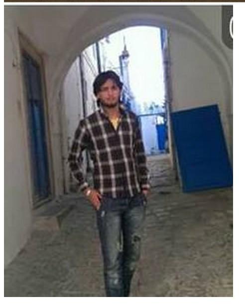 Martyred activist 'Barqawi al-Zeim Barqawi' in AJDABIYA