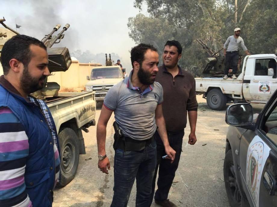 militia led Inventory Haitham Tagouris altajor breaks chemical ostrich camp area of Tajourah