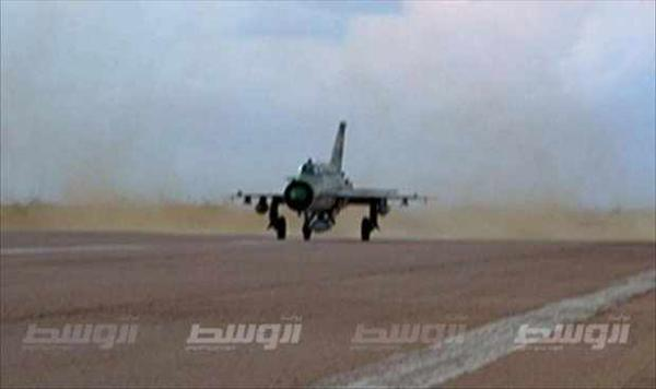 Misurata aircraft attack civilian and Khaddafa Water wells in Zintan