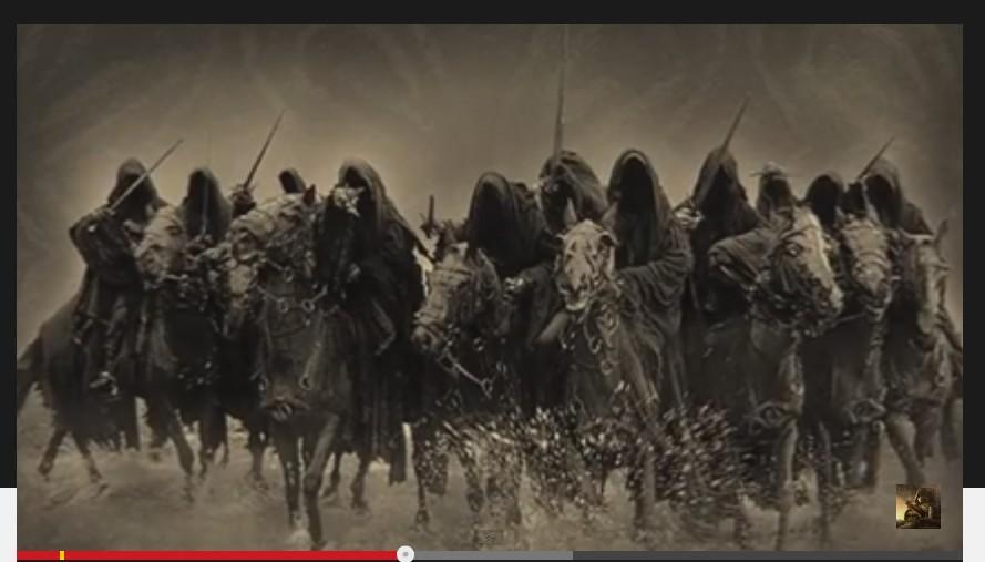 Nazgul ring-wraiths