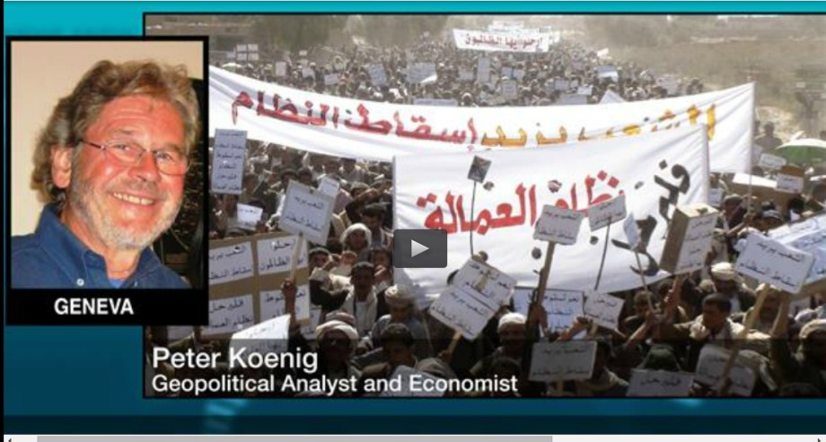 Peter Koenig on Yemen 06 April 2015