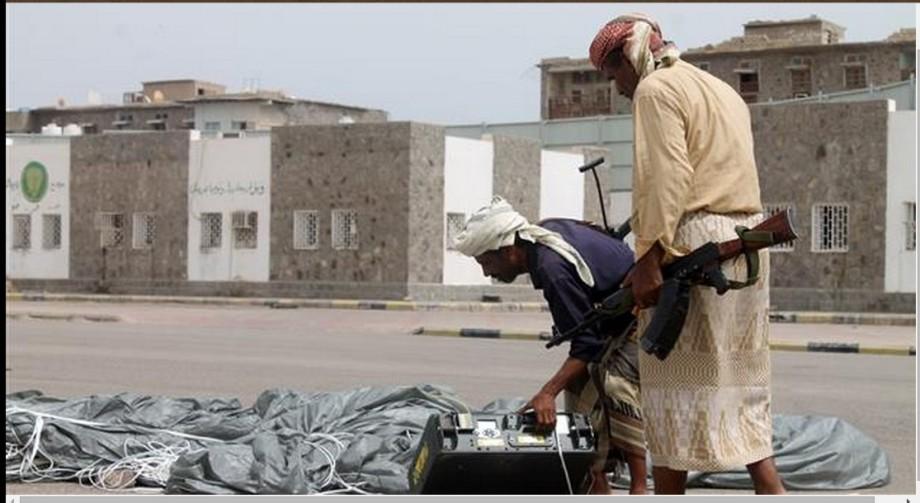 Saudi planes airdrop arms to al-Qaedda terrorists in Yemen, 1