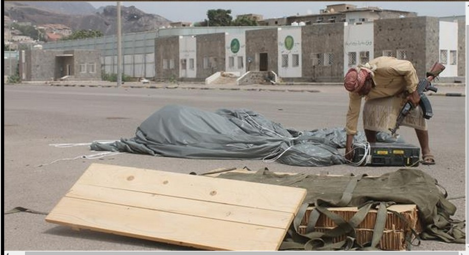 Saudi planes airdrop arms to al-Qaedda terrorists in Yemen, 2