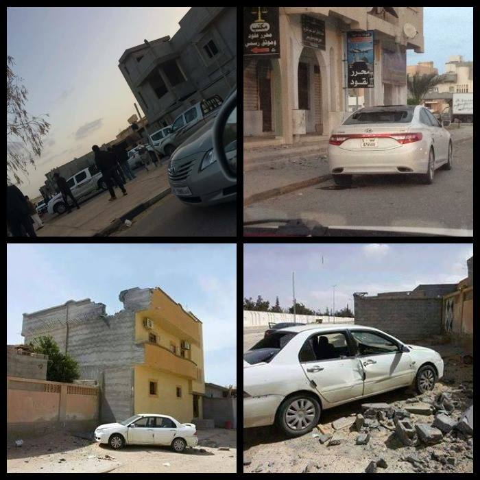 Shelling of SIRTE