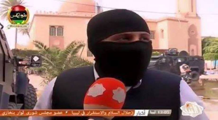 spokesman for the Nawasi militia of deterance of the 'government of Salvation', Fashloum, Tripoli