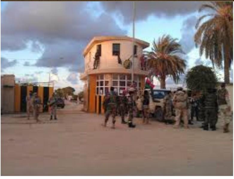 Thunderbolt Camp in Botni, Benghazi
