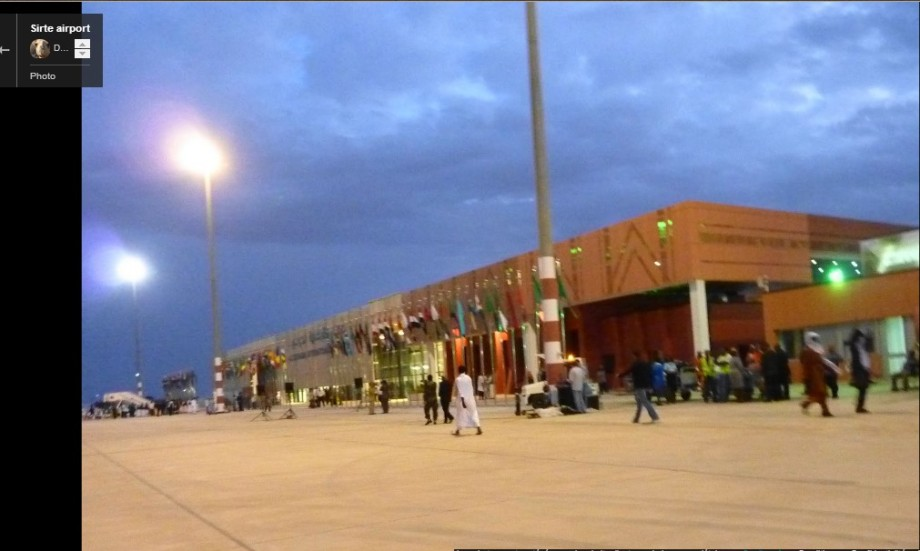 What was Sirte Airport