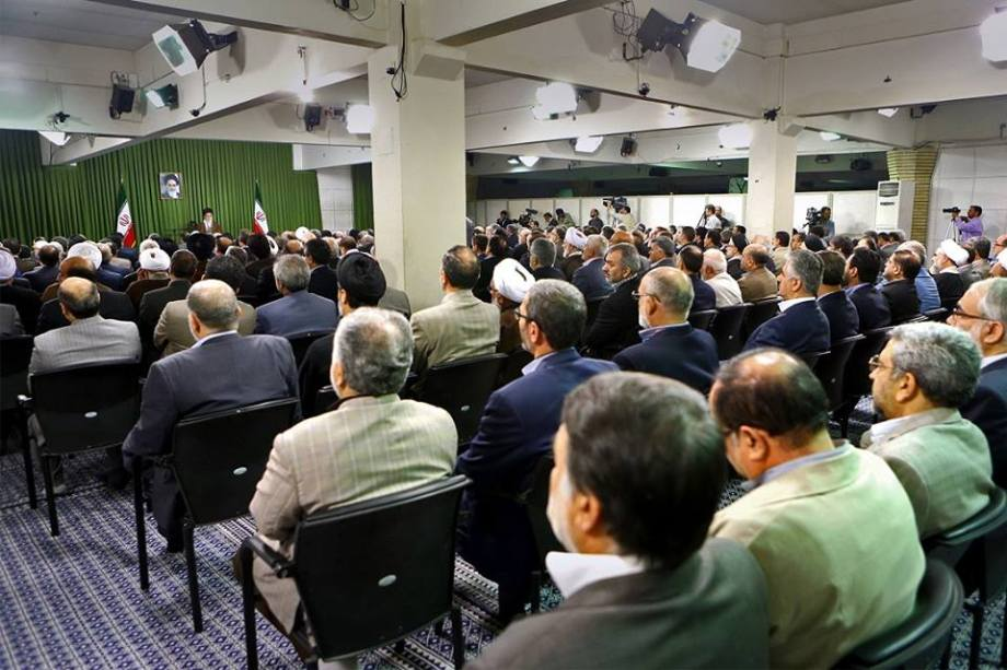 29 MAY 2015 Ali Khamenei addresses the Iranian MAJLIS