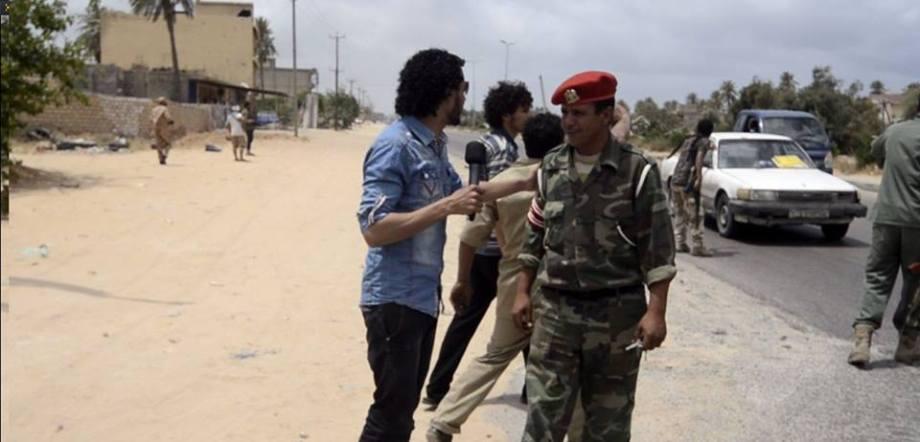Army on Coastal Road to Tripoli, 1