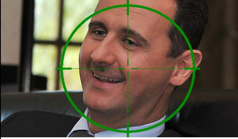 Bashar Al-Assad, USA target