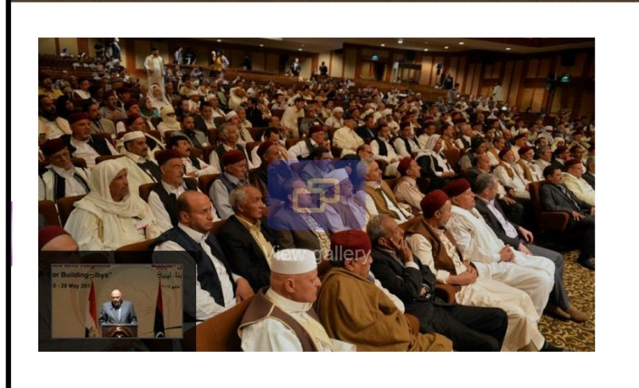 Cairo Conference of Libyan Tribes, 25-29 MAY 2015