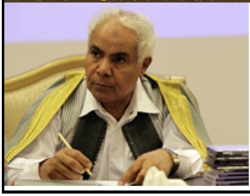 Captive hero Mohammed Abdul Qasim (cabled), Secretary of the 'General People's Conference', 2