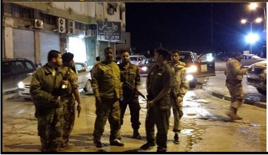 Colonel Nice Bouchmadh in al-Aleci