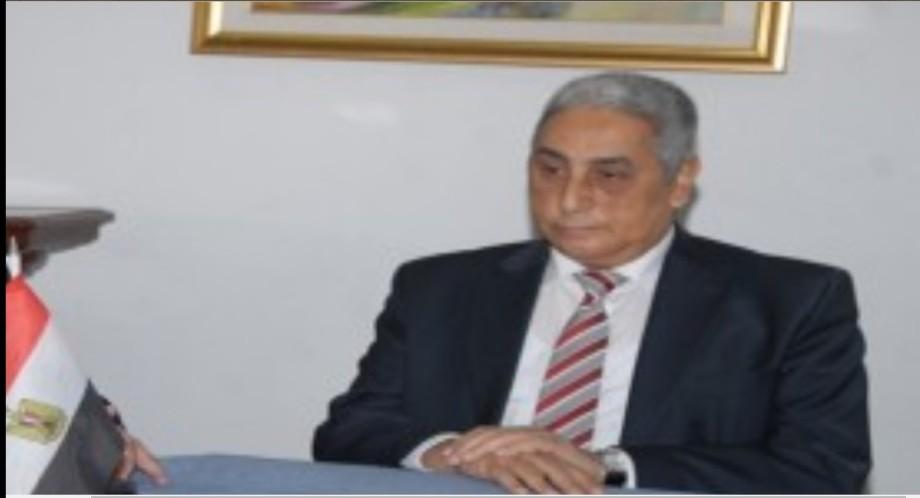 Egyotian Foreign Minister Osama al-Magdoub