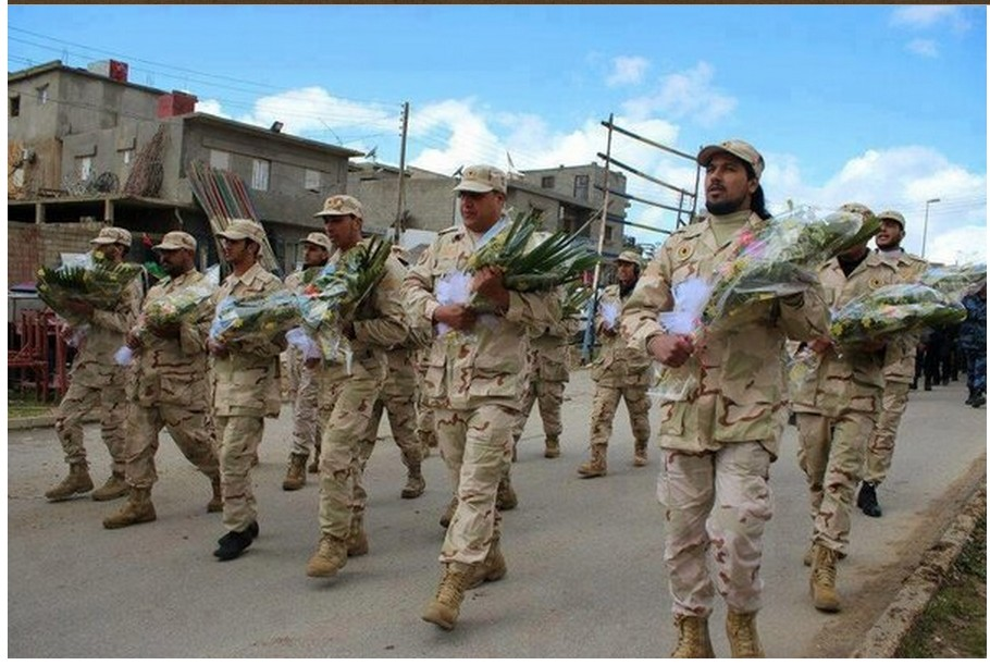 Libyan Army in Abjadiya for peace