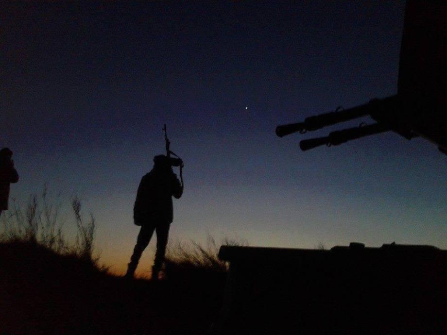 LIBYAN ARMY protectors in the WESTERN REGION