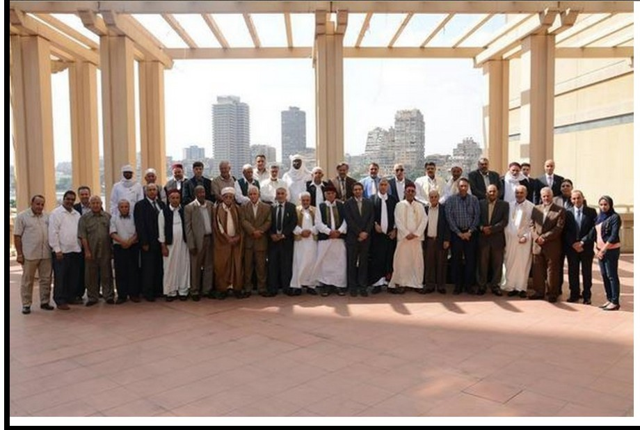 LIBYAN TRIBES meet in Cairo for Talks