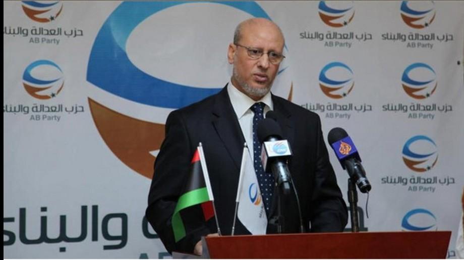Mohammed Sewan, head of Libya's 'Muslim' Brotherhood