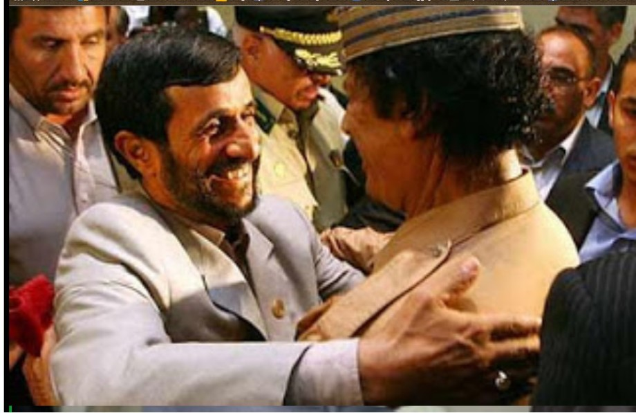 Mu and Ahmadinejad meet