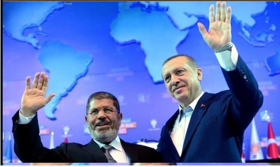 'Muslim' Brotherhood brothers, Erdogen and Morsi