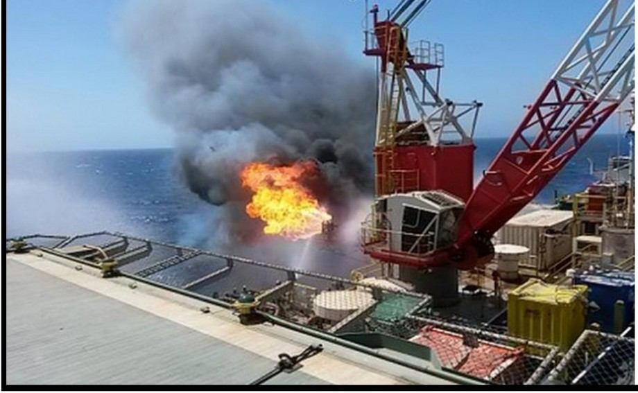 new discovery of gas and condensates offshore Libya in the Bouri North